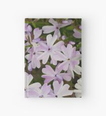 Green and Purple Watercolor Floral Pattern Hardcover Journal