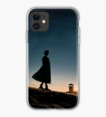 Doctor Who in the funny sky 2 iphone case