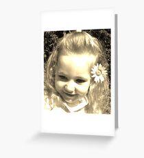 Precious Daisy Greeting Card