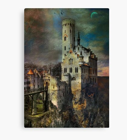 Lichtenstein Castle . Canvas Print