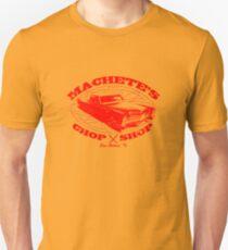 Machete Chop Shop Unisex T-Shirt