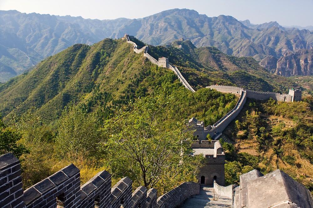Great Wall at Taipingzhai by Karen Millard