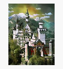 Schloss(Castle) Neuschwanstein Photographic Print