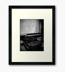 All Work and No Play Makes Jack a Dull Boy ~ West Park Asylum Framed Print