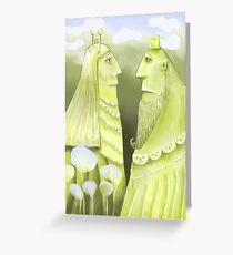 Royalty in the Mountains Greeting Card