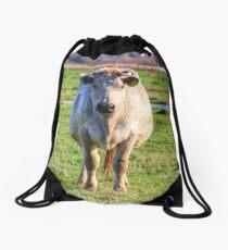 It's a Cow Drawstring Bag