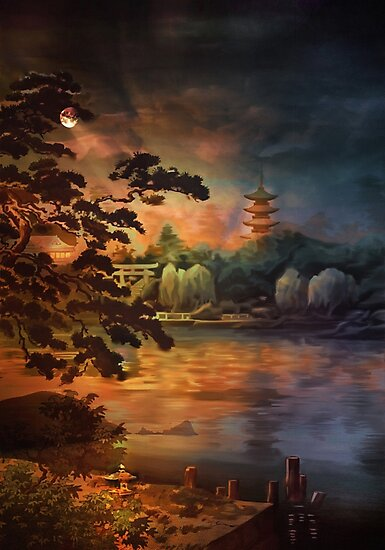Magic of Japanese gardens. by andy551