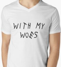 With My Woes Men's V-Neck T-Shirt