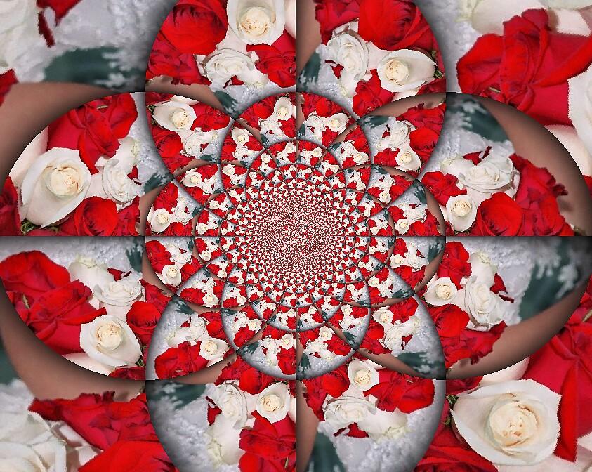 Vow Renewal Bouquet by Debbie Robbins