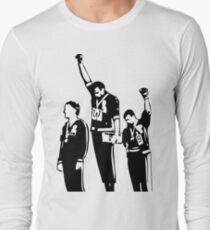 1968 Olympics Black Power Salute Long Sleeve T-Shirt
