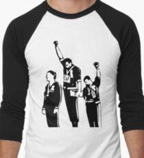 1968 Olympics Black Power Salute Men's Baseball ¾ T-Shirt