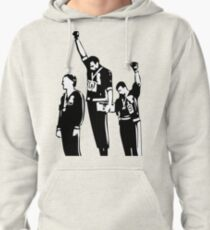 1968 Olympics Black Power Salute Pullover Hoodie