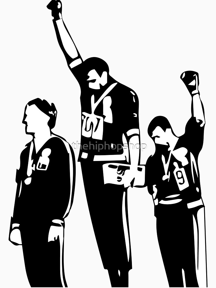 1968 Olympics Black Power Salute by thehiphopshop