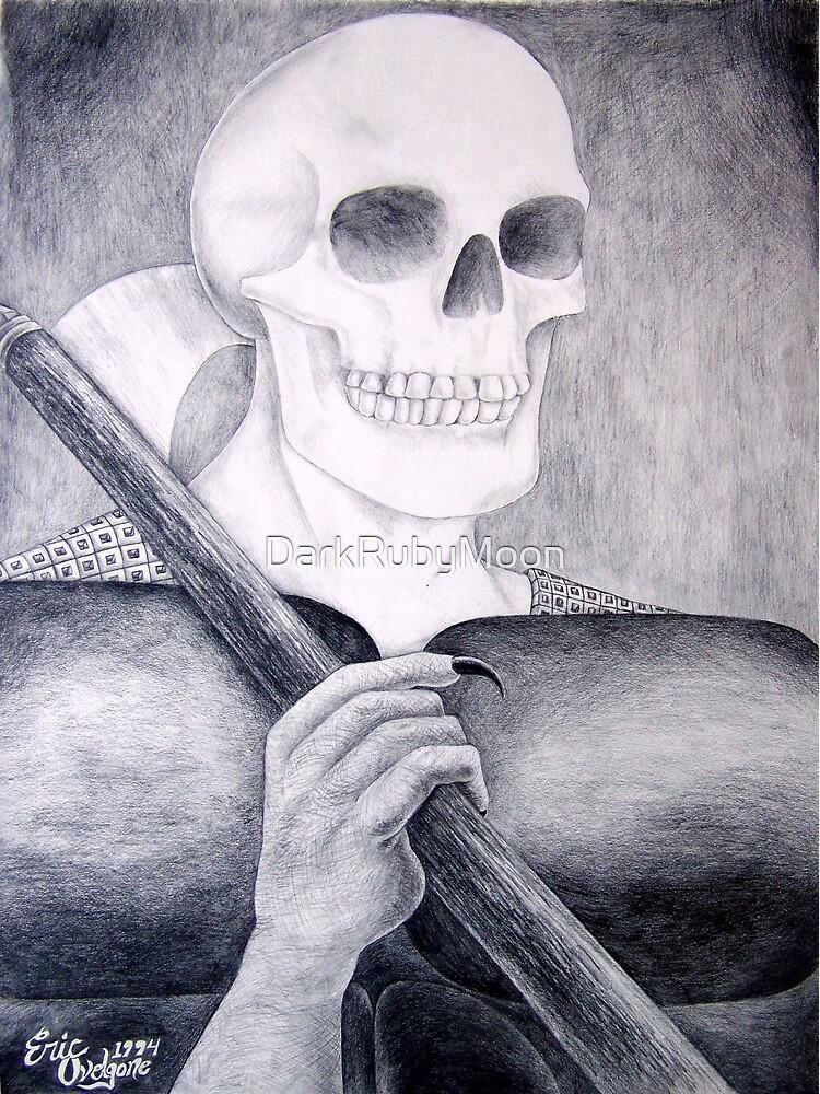 Death's Smile or Grim Reaper by DarkRubyMoon