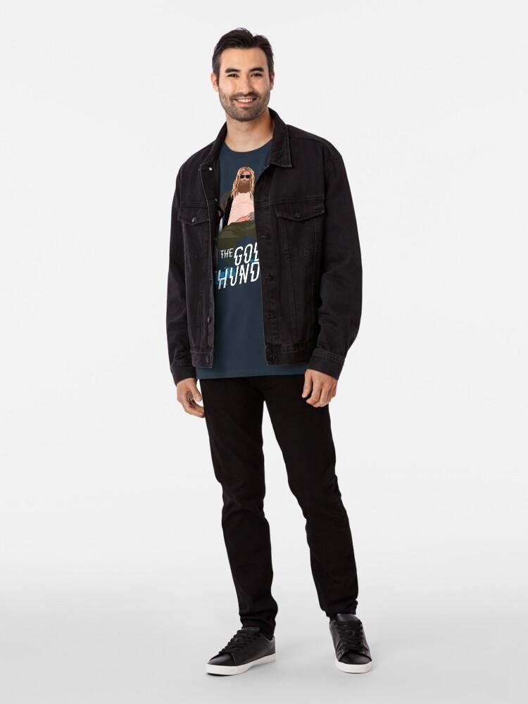 Alternative Ansicht von Der Donnergott Premium T-Shirt