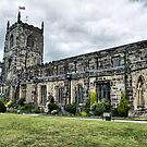 Holy Trinity Church . Skipton . by Lilian Marshall