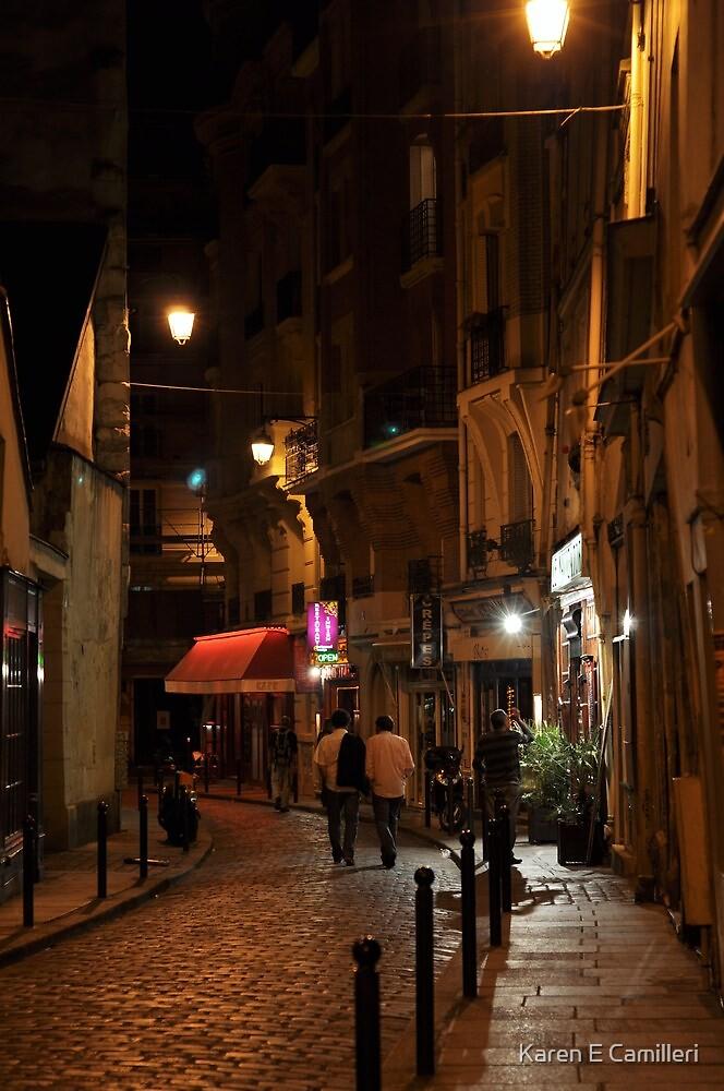 evening in the Latin Quarter by Karen E Camilleri