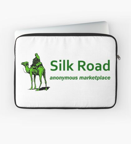 Silk Road Darknet Marketplace v1.0 Laptop Sleeve