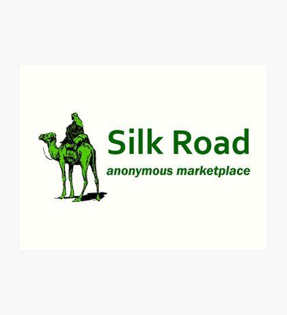 Silk Road Darknet Marketplace v1.0 Art Print