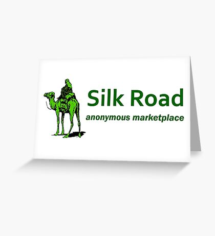Silk Road Darknet Marketplace v1.0 Greeting Card