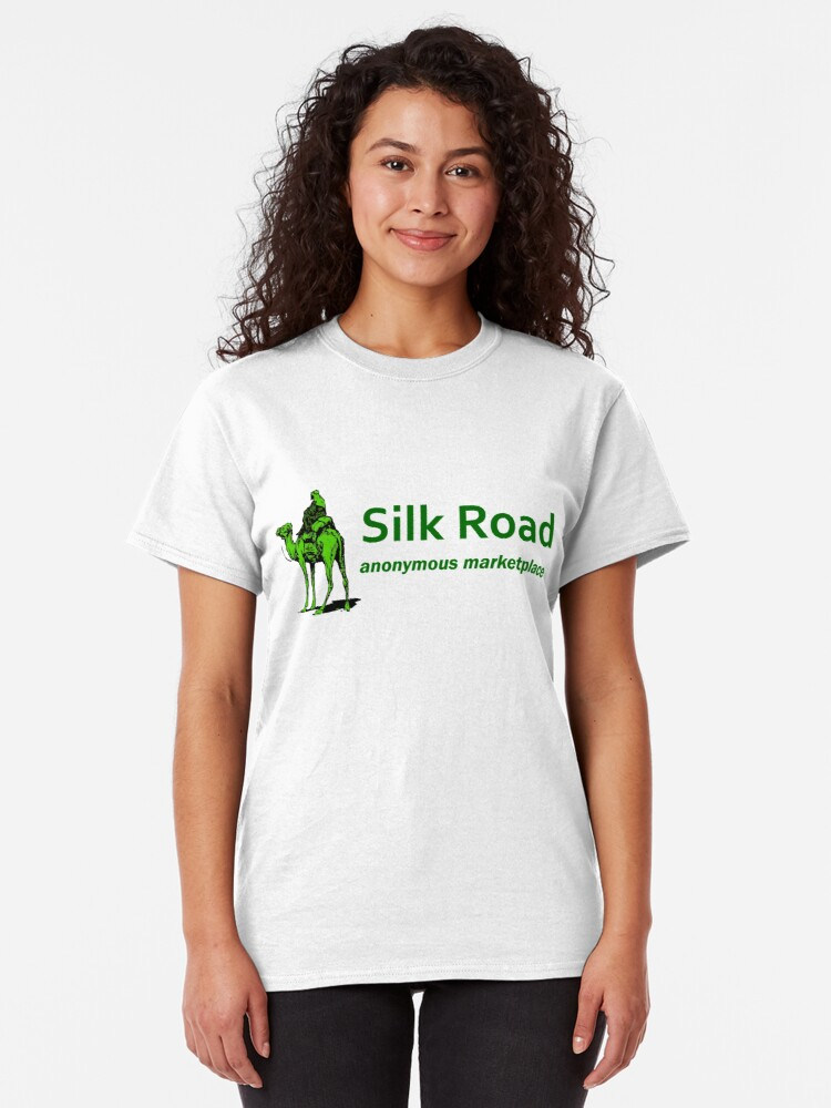 Alternate view of Silk Road Darknet Marketplace v1.0 Classic T-Shirt