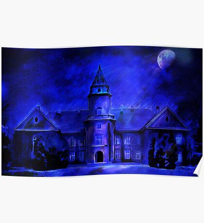 Winter Castle Poster