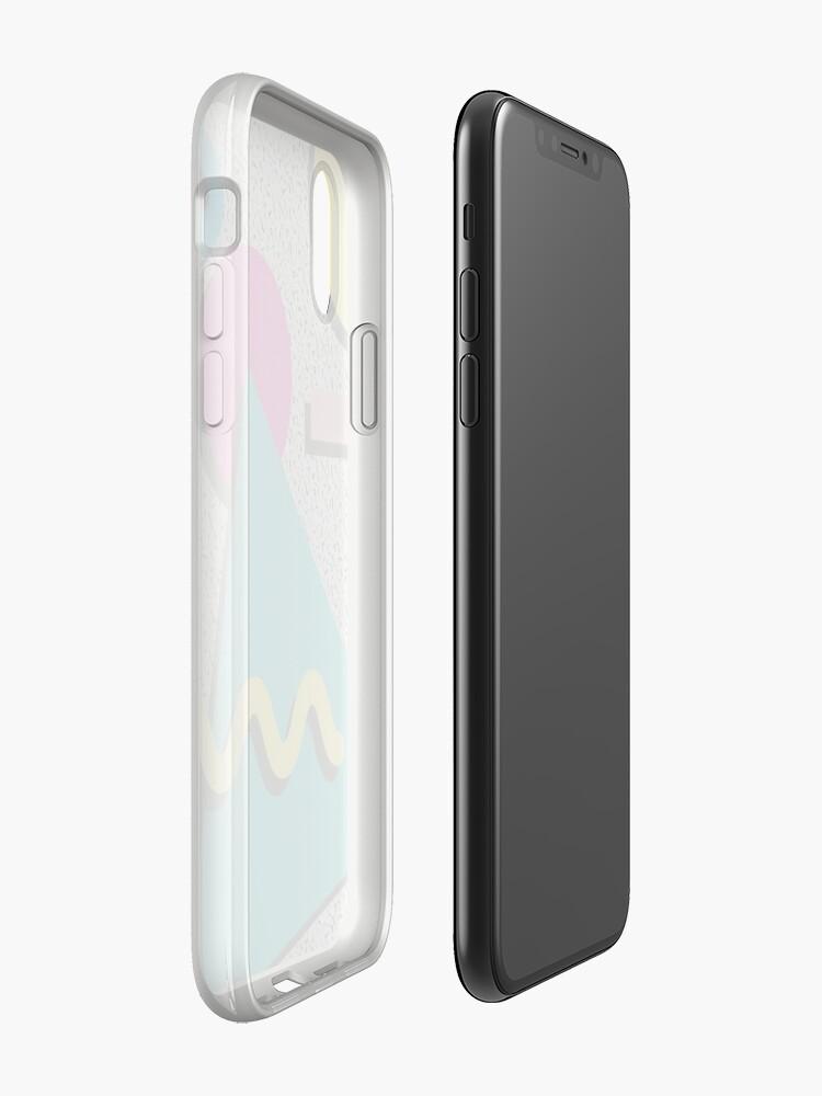Alternative Ansicht von 80er Jahre abstraktes Muster iPhone-Hüllen & Cover