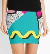 Minifalda Modelo abstracto de los años ochenta