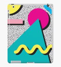 1980s Abstract Pattern iPad Case/Skin