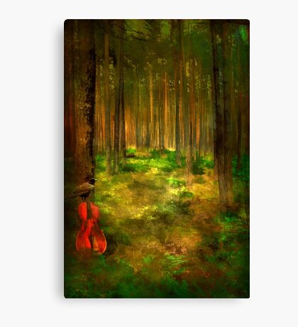 Forest Symphony..... Canvas Print