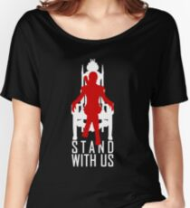 Stand with us Women's Relaxed Fit T-Shirt