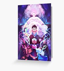 The Crystal Gems - Steven Universe Greeting Card