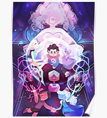 The Crystal Gems - Steven Universe Poster