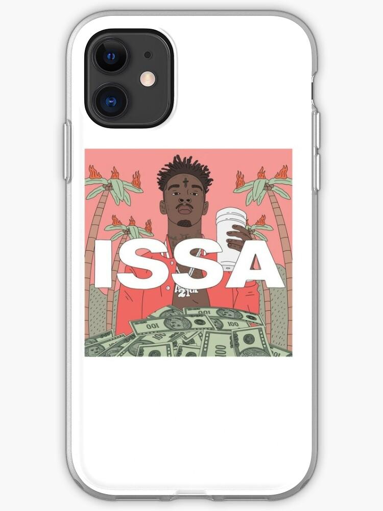 21 Savage Issa Album iphone case