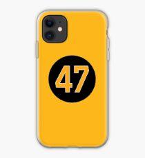 Boston Bruins Torey Krug Jersey Back iphone case