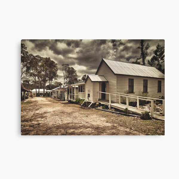 Outback Town Canvas Print