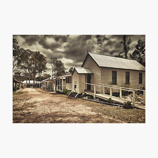 Outback Town Photographic Print