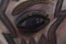 Conte Eye, Nonrepresentational by C. Rodriguez