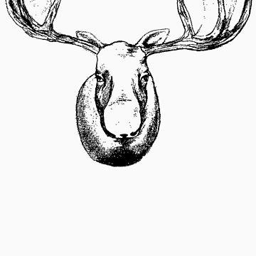 The Moose - Black by katmac
