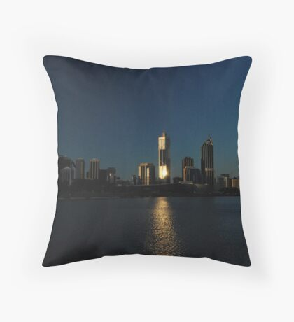 Perth Skyline, Western Australia Throw Pillow
