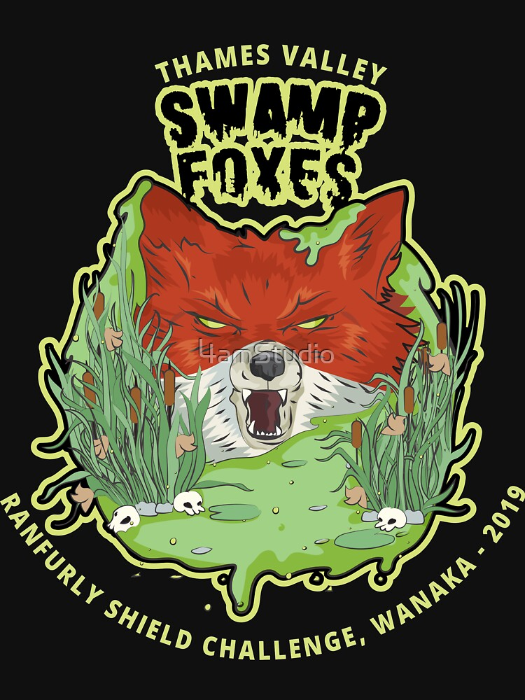 Thames Valley Swamp Foxes - Tribute by 4amStudio