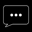 Copy of Text Message Reply Bubble Icon (light design) by bauwau-design