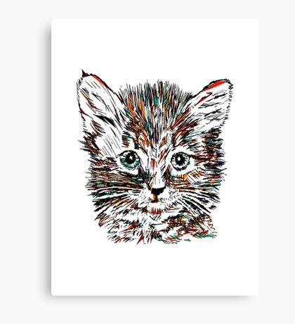 CAT.... Canvas Print