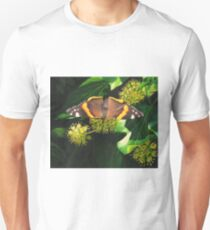November butterfly on ivy Unisex T-Shirt