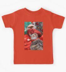 CHRISTMAS CELEBRATIONS OF PRINCESS TATUS CAT Kids Tee