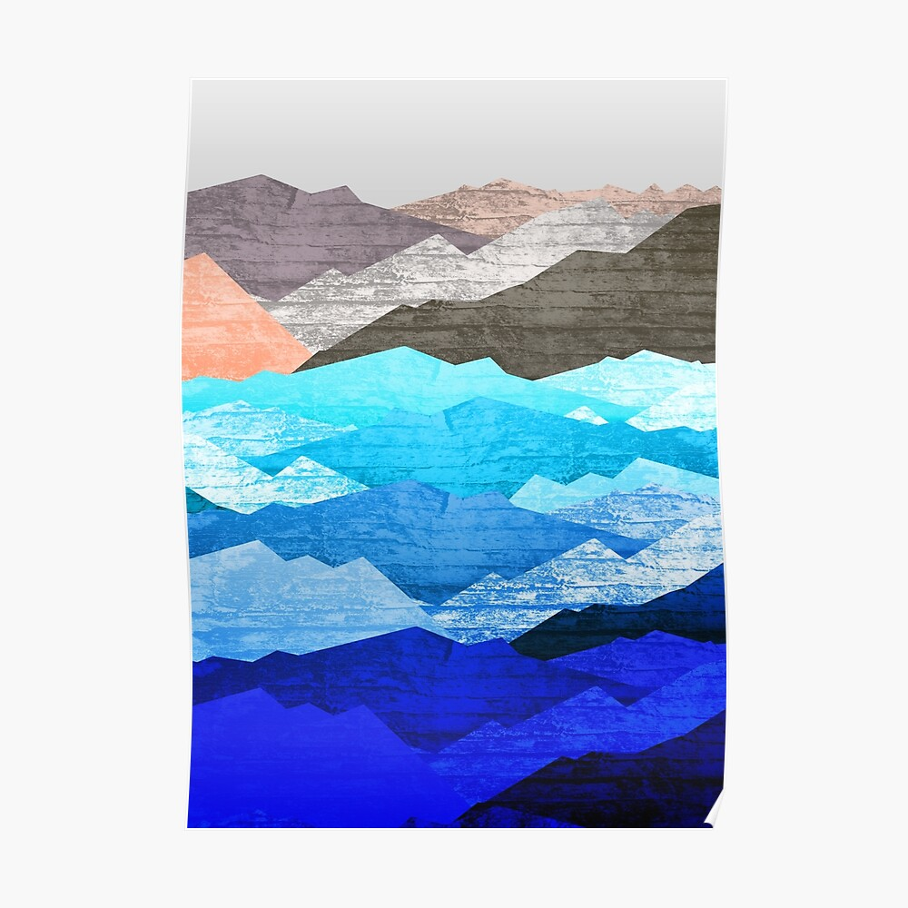 The mountains and the sea  Poster