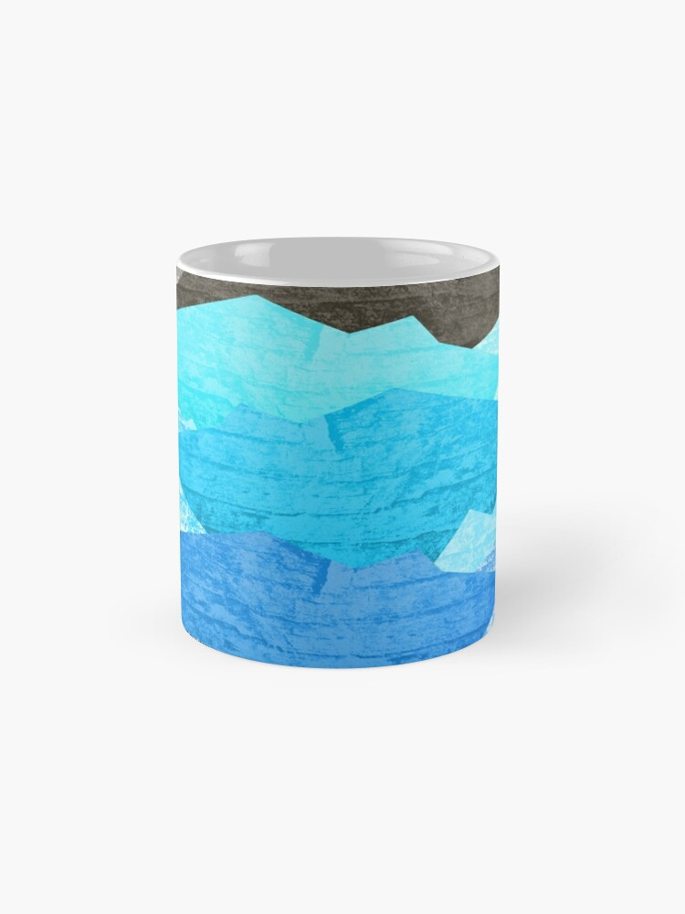 Alternate view of The mountains and the sea  Classic Mug