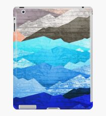 The mountains and the sea  iPad Case/Skin