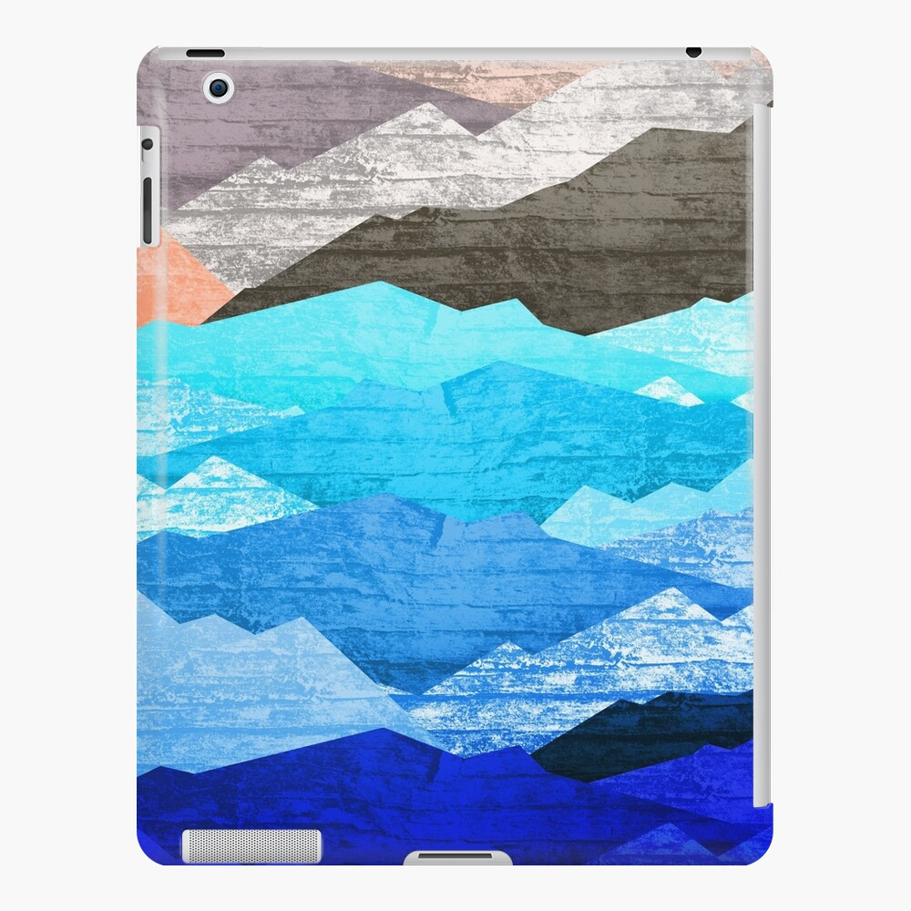 The mountains and the sea  iPad Case & Skin