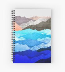 The mountains and the sea  Spiral Notebook